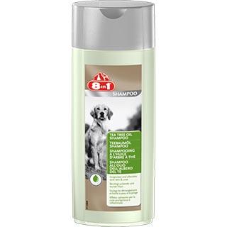 8 in 1 Шампунь противовоспалительный для собак с маслом чайного дерева, фл. 250 мл