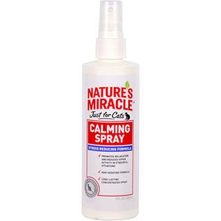 8 in 1 NM,No Stress Calming Spray for Cat средство успокаивающее Антистресс для кошек, фл. 237 мл