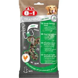 8 in 1 TRAINING, Лакомство для собак мясо и рис, уп. 100 г