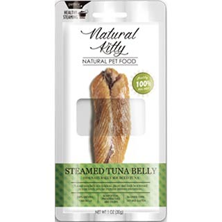 Pettric Natural Kitty Steamed, Tuna Belly филе тунца на пару (брюшко) для кошек, уп. 30 г