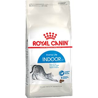 Royal Canin Indoor корм для кошек от 1 до 7 лет, постоянно живущих в помещении, уп. 0.4 + 0.16 кг