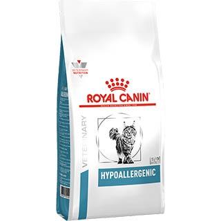 Royal Canin Hypoallergenic корм для кошек, при пищевой аллергии, уп. 2.5 кг