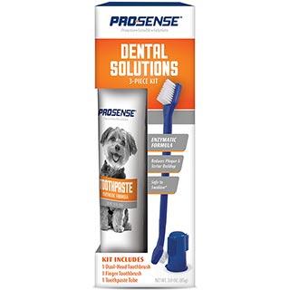 8 in 1 Pro-Sense, Dental Solutions набор для ухода за зубами собак