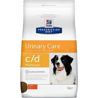 Hil's C/D корм для собак для профилактики мочекаменной болезни, струвиты, уп. 2 кг