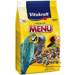 Vitakraft Menu корм для крупных попугаев, уп. 1 кг