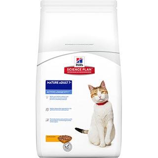Hill's Active Longevity корм для кошек старше 7 лет с курицей, уп. 300 г