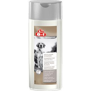 8 in 1 шампунь для собак светлых окрасов, фл. 250 мл