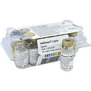 Вакцина Нобивак Lepto, доза, 1 флакон