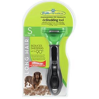 FURminator для мелких длиношерстных собак мелких пород 4 см
