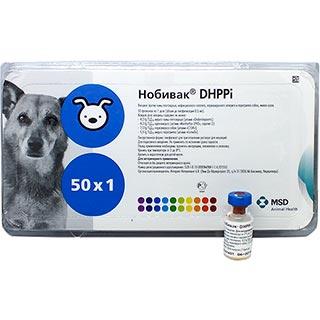 Вакцина Нобивак DHPPI,  доза, 1 флакон