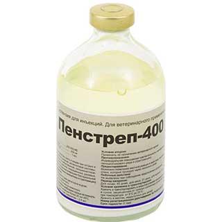 Пенстреп-400 LA, суспензия для инъекций фл. 100 мл
