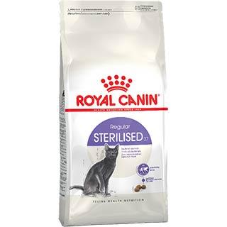 Royal Canin Sterilised корм для стерилизованных кошек, от 1 до 7 лет, уп. 2 кг