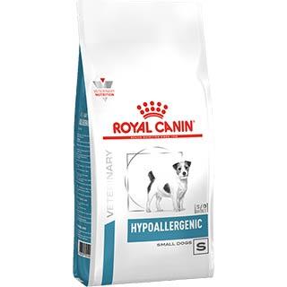 Royal Canin Hypoallergenic Small Dog under 10kg корм для собак менее 10 кг с пищевой аллергией или н