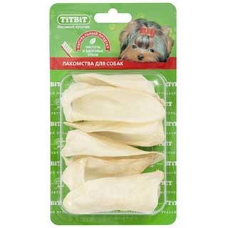 TITBIT Ухо ягненка Б2-L, мягкая упаковка