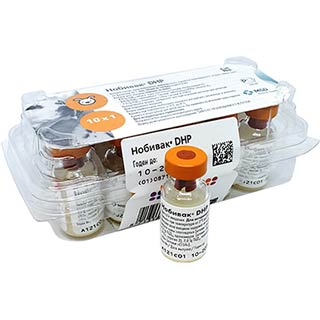 Вакцина Нобивак DHP, доза, 1 флакон