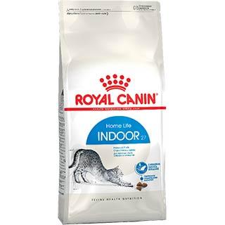Royal Canin Indoor корм для кошек от 1 до 7 лет, постоянно живущих в помещении, уп. 2 кг