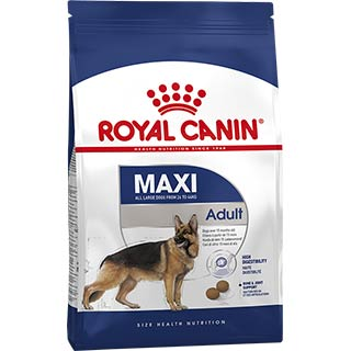 Royal Canin Maxi Adult корм для собак крупных пород с 15 месяцев до 5 лет, уп. 3 кг
