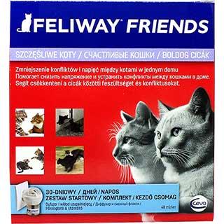 Феливей Френдс для кошек, электрический диффузор + фл. 48 мл