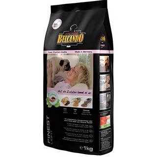 Belcando Файнест Лайт корм для взрослых и пожилых собак мелких и средних пород с избыточным весом, у