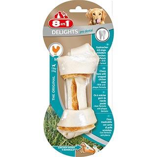 8 in 1 EXCEL DENTAL DELIGHTS, M косточка для чистки зубов для собак 12-35 кг