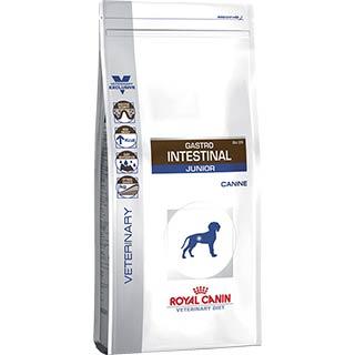 Royal Canin Gastro Intestinal Junior корм для щенков, до 1 года при нарушениях пищеварения, уп. 2.5