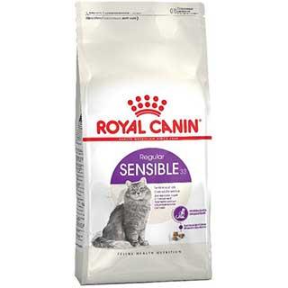 Royal Canin Sensible корм для кошек, с чувствительной пищеварительной системой от 1 до 7 лет, уп. 2