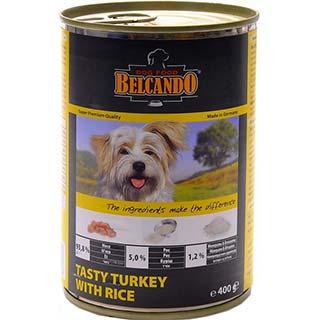 Belcando корм для собак с  индейкой и рисом, банка 400 г
