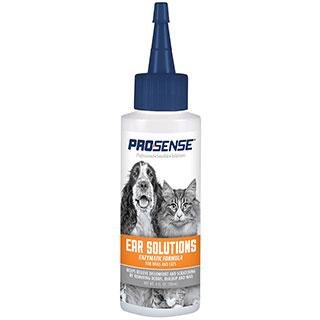 8 in 1 Pro-Sense, Ear Cleanser Solutions лосьон для ушей, собак и кошек, фл. 118 мл