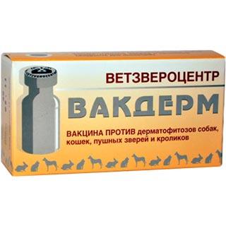 Вакцина Вакдерм, доза, 1 флакон