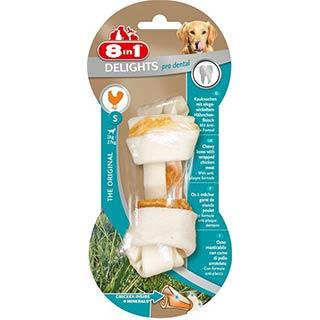 8 in 1 EXCEL DENTAL DELIGHTS, S косточка для чистки зубов для собак 2-27 кг 11 см