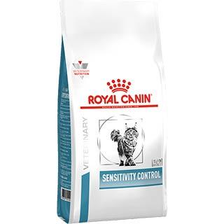 Royal Canin Sensitivity Control корм для кошек при пищевой аллергии с уткой, уп. 1.5 кг
