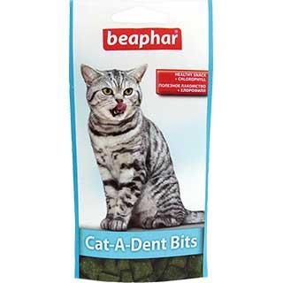 Beaphar подушечки для чистки зубов у кошек, уп. 35 г