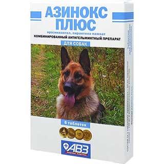 Азинокс плюс, уп. 6 таблеток