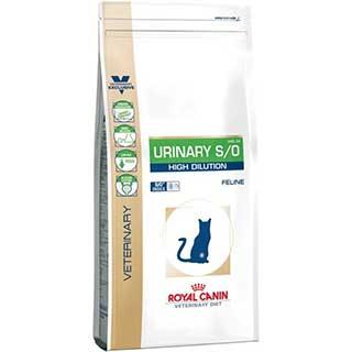 Royal Canin Urinary S/O High Dilution корм для кошек при заболеваниях мочевыделительной системы, уп.