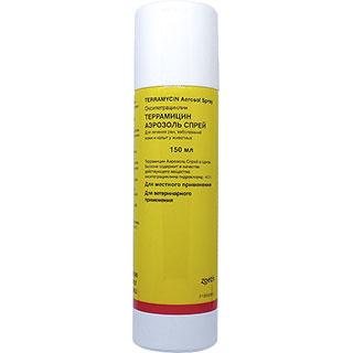 Террамицин, аэрозоль, фл.150 мл