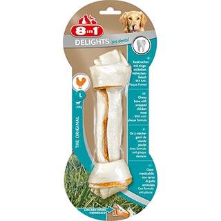 8 in 1 EXCEL DENTAL DELIGHTS, L косточка для чистки зубов для собак более 20 кг