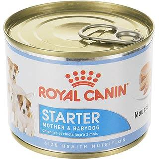 Royal Canin Pediatric Starter корм для щенков с рождения до 2 месяцев, а также для беременных и корм