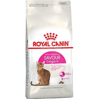 Royal Canin Savour Exigent корм для кошек, привередливых к вкусу продукта, уп. 0.4 кг
