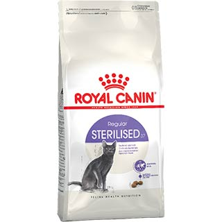 Royal Canin Sterilised корм для стерилизованных кошек от 1 до 7 лет, уп. 0.4 кг