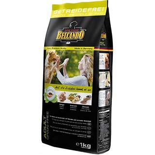 Belcando Эдалт Грейн Фри корм для собак с чувствительностью к злакам и нормальной активностью, уп. 1
