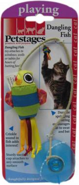 Игрушка  Petstages для кошек Рыбка на присоске