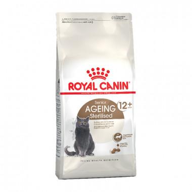 Royal Canin Ageing Sterilised 12+, корм для стерилизованных кошек старше 12 лет, уп. 2 кг