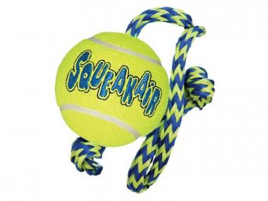"""Игрушка  для собак """"Теннисный мяч с канатом"""" средний"""