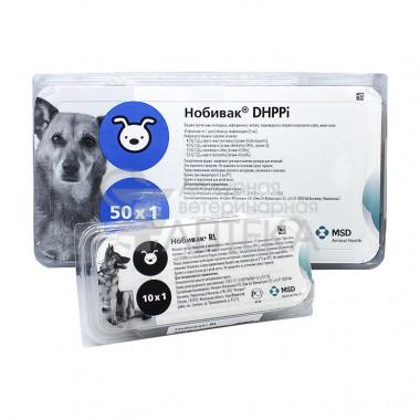 Вакцина Нобивак DHPPI + RL, комплект
