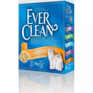 Ever Clean Less Track, наполнитель комкующийся для длинношерстных кошек, (оранжевая полоска), уп. 10