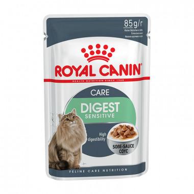 Royal Canin Digestive, Sensitive корм для кошек с чувствительным пищеварением старше 1 года, пауч 85