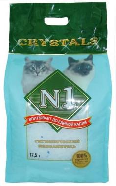 Crystals - Силикагелевый,  наполнитель,  уп. 12,5 л