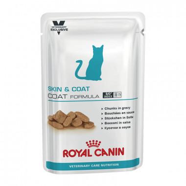 Royal Canin Skin & Coat Formula корм для кастрированных котов и стерилизованных кошек с сухой кожей