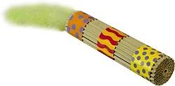 Игрушка  Petstages для кошек Туб картон с длинным хвостом