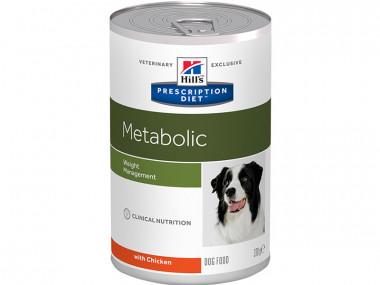 Hill's Metabolic корм для собак для коррекции веса, банка 360 г
